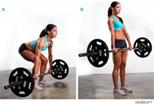 deadlift for glutes