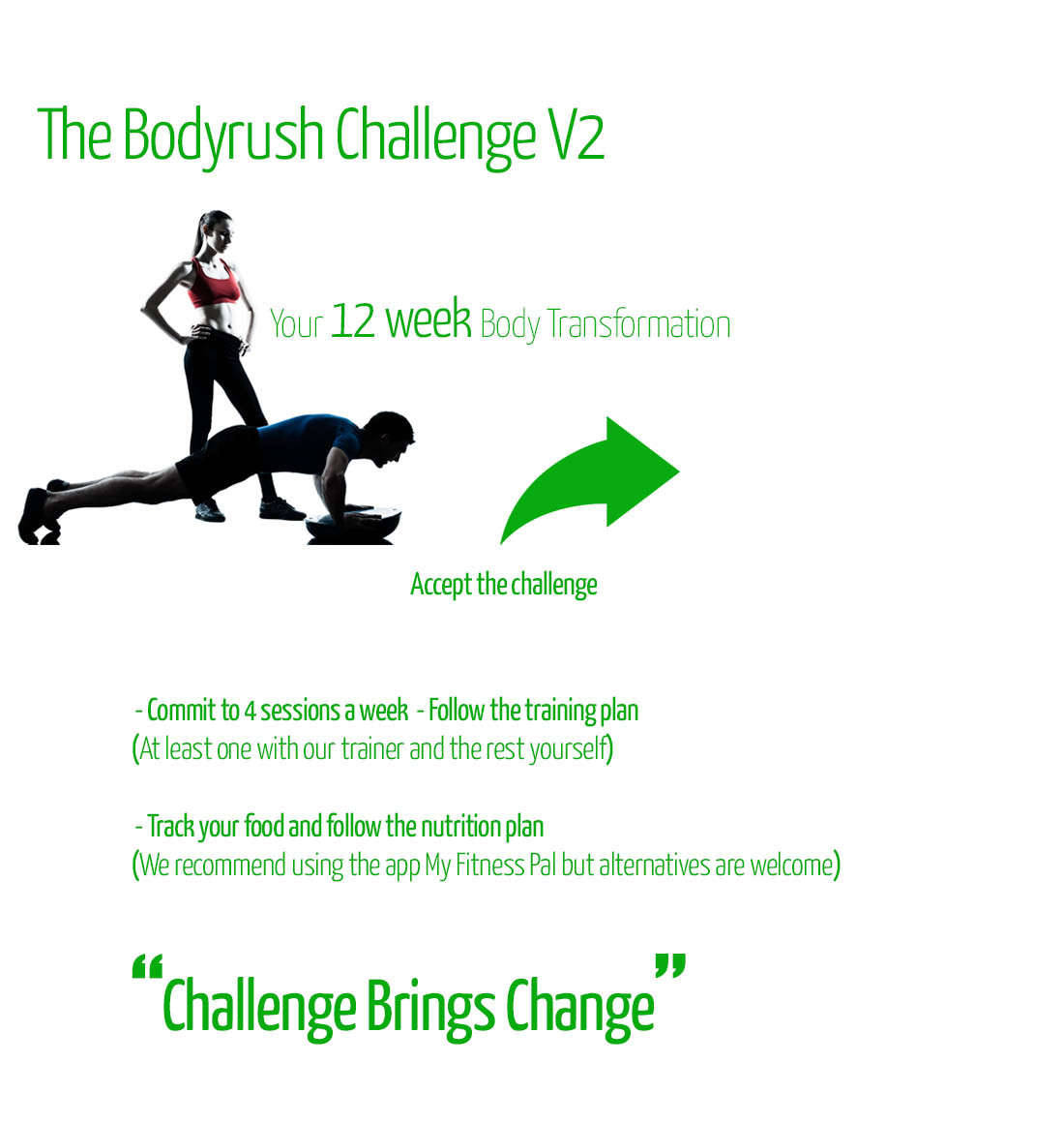 Personal Trainer Chiswick Bodyrush challenge V2